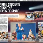 Space student spread